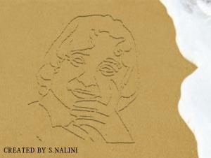 drawing on sand apj1